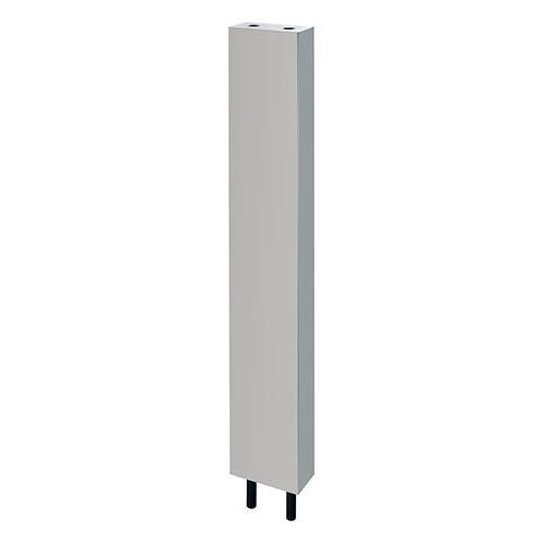 カクダイ KAKUDAI 厨房用ステンレス水栓柱 (立形水栓用) 20 624-660S-120 水栓金具・器
