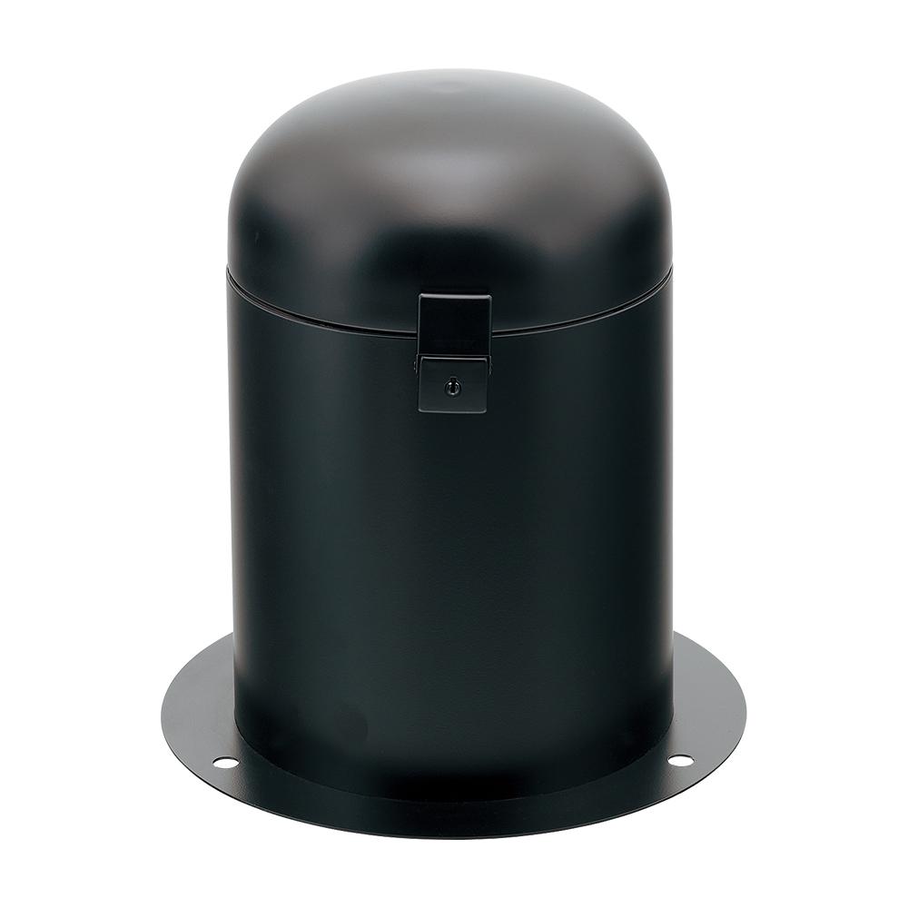 カクダイ KAKUDAI 立型散水栓ボックス (ブラック・カギつき) 626-139-D 緑化庭園