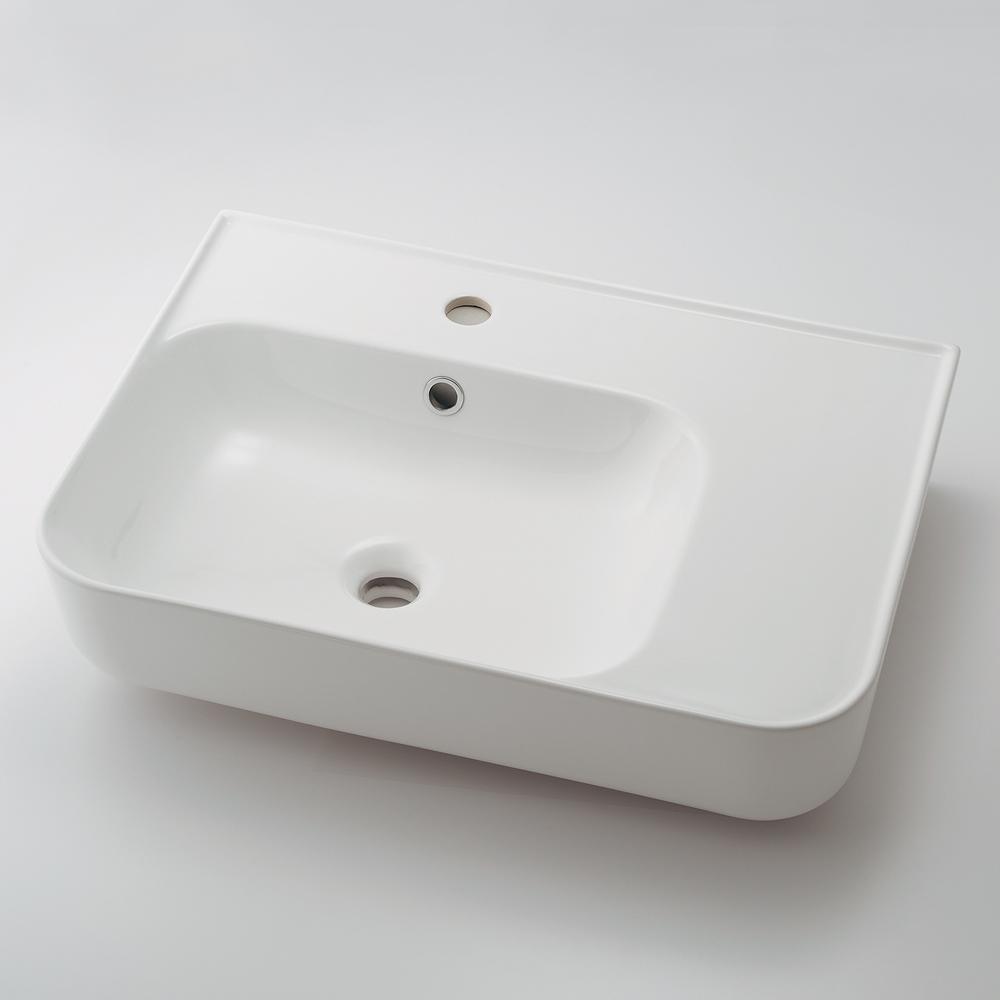 カクダイ KAKUDAI 壁掛洗面器 #CL-8780AC 水栓金具・器