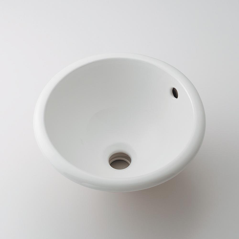 カクダイ KAKUDAI 丸型手洗器 #CL-K1002AC 水栓金具・器