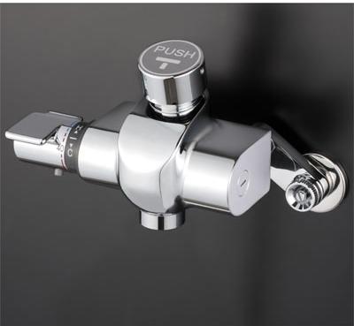 KVK 自閉式サーモスタット式混合栓 吐水口専用タイプ【KM3040】[新品]