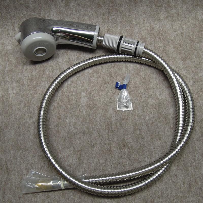 KVK 【Z594FM/800】 KM368(Z)MS用シャワーヘッド&ホース KVK補修部品>KVKキッチン・洗面シャワー部品 [新品]