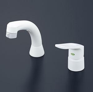 KVK 洗面化粧室 【KM8007EC】 シングルレバー式洗髪シャワー(eレバー) [新品]