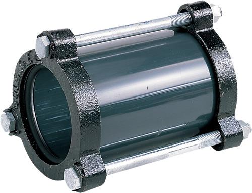 上水道関連製品>給水特殊継手>伸縮継手(ボルトナット締) HI伸縮継手SUS仕様 J-DS HIJ200DS Mコード:13331 (前澤化成工業、積水、東栄管機 他)配管部品,管材