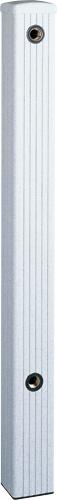4個セット 上水道関連製品 水栓柱/水栓パン ミカゲシリーズ 80角 HI-1型 80-HI-1X1000ミカゲ Mコード:14402 前澤化成工業