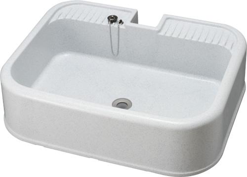 4個セット 上水道関連製品 水栓柱/水栓パン 水栓パン PP製水栓パン埋込式 SP-U SP-U550 Mコード:14721 前澤化成工業