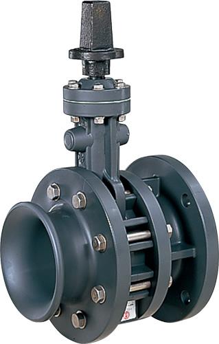 上水道関連製品>ビニベンゲート/バタフライ>バタフライ VR VRCL型 キャップ式/左開き VRCL-50 Mコード:16059 前澤化成工業