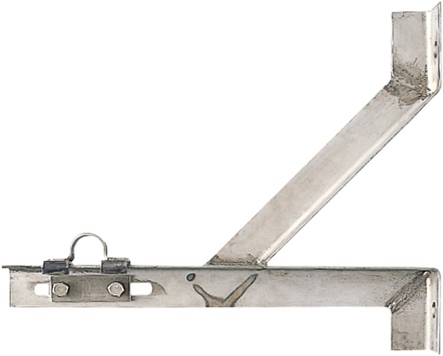 上水道関連製品 FRP通風筒/開閉台 開閉台 部品 振れ止め金具 MK3P-FDSUS-N600 Mコード:18064 前澤化成工業