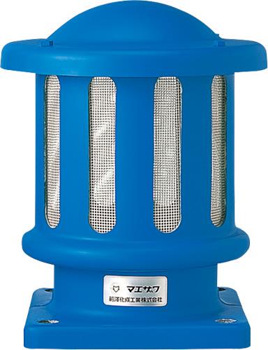 上水道関連製品>FRP通風筒/開閉台>通風筒 MK4 角フランジタイプ MK4-150 Mコード:18074 前澤化成工業