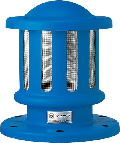 上水道関連製品>FRP通風筒/開閉台>通風筒 MK5 上水フランジタイプ MK5-100 Mコード:18080 前澤化成工業