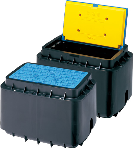 上水道関連製品>ボックス製品>量水器ボックス MB 25Hシリーズ MB-25HAUX400 Mコード:21270 前澤化成工業