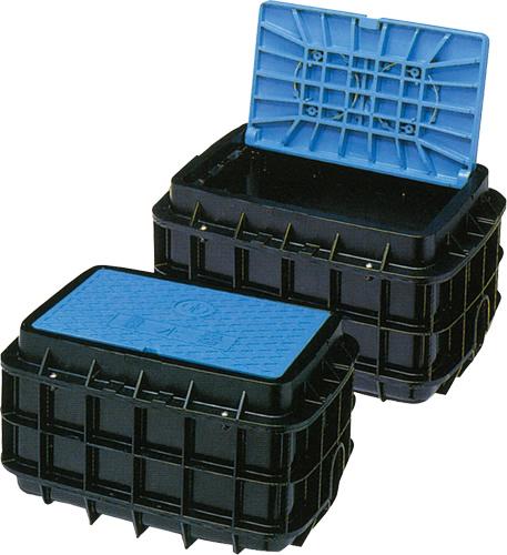上水道関連製品>ボックス製品>量水器ボックス MB 20Cシリーズ MB-20CH Mコード:21650 前澤化成工業