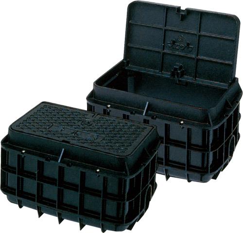 上水道関連製品>ボックス製品>量水器ボックス MB Dシリーズ(鋳物蓋) MB-20DW Mコード:21923 前澤化成工業