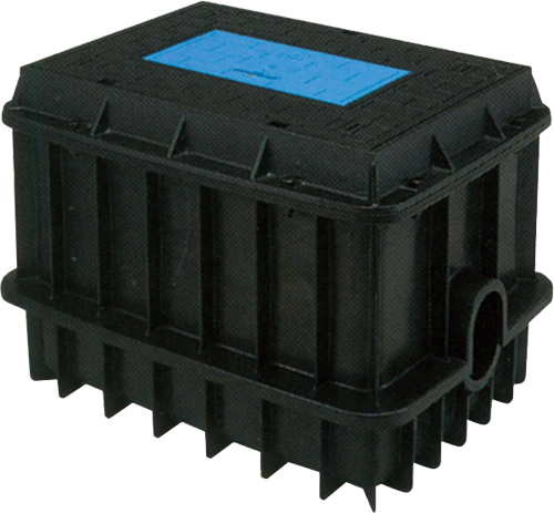 上水道関連製品>ボックス製品>大型量水器ボックス 大型量水器ボックス MB MB-100FK Mコード:22144 前澤化成工業