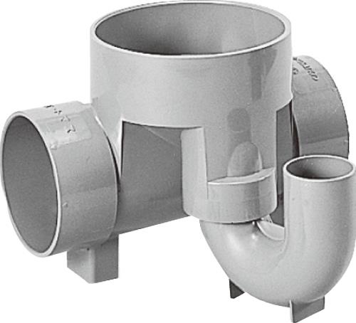 下水道関連製品 ビニマス M 100-150シリーズ トラップ (UT) M-UT兼100X50S-150 Mコード:40431 前澤化成工業