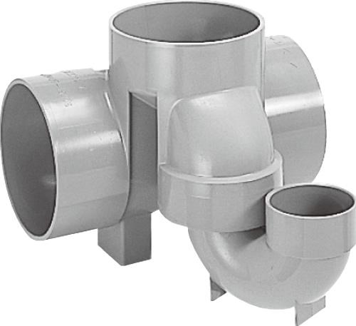 下水道関連製品 ビニマス M 150シリーズ トラップ (UT) M-UT右150X75S-150 Mコード:40499 前澤化成工業
