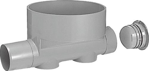 下水道関連製品 ビニマス M 100-300シリーズ ストレートキャップ付 (ST) MC-ST100PX100-300 Mコード:41244 前澤化成工業