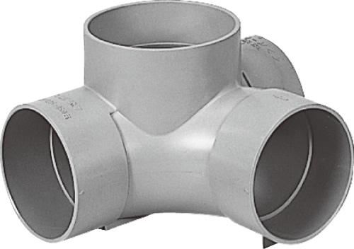 下水道関連製品 ビニマス M 125-150シリーズ 90度合流 (90Y) M-90Y右125-150 Mコード:41325 前澤化成工業