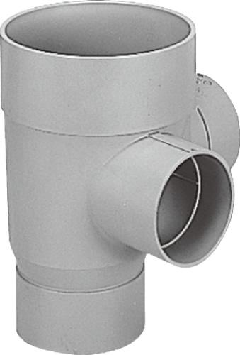 下水道関連製品>ビニマス>M 125-200シリーズ 90度合流ドロップ(DRY) M-DRY左125X100-200 Mコード:41470 前澤化成工業