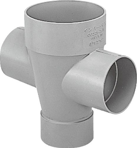 下水道関連製品>ビニマス>M 125-200シリーズ 左右合流ドロップ(DRW) M-DRW125-200 Mコード:41475 前澤化成工業