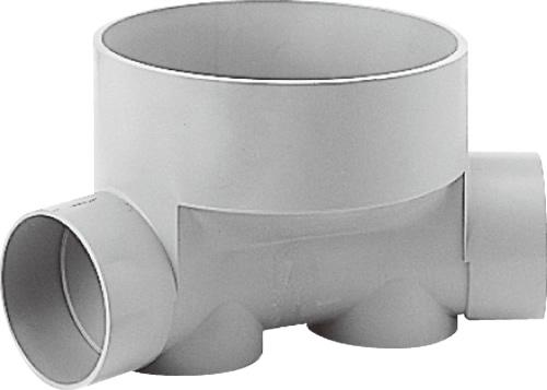 下水道関連製品>ビニマス>M 125-300シリーズ 45度曲り(45L) M-45L右125-300 Mコード:41574 前澤化成工業
