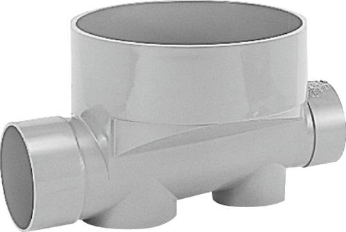 下水道関連製品>ビニマス>M 125-300シリーズ ストレート(ST) M-ST125-300 Mコード:41576 前澤化成工業