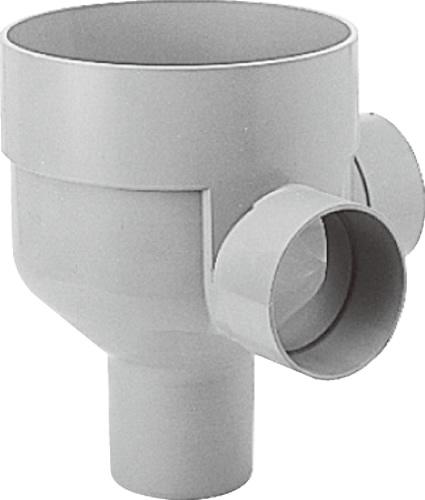 下水道関連製品 ビニマス M 125-300シリーズ 90度合流ドロップ (DRY) M-DRY125-300 Mコード:41578 前澤化成工業