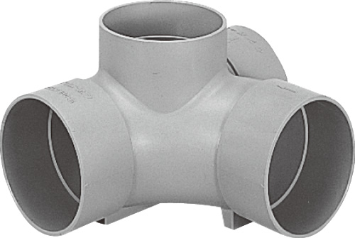 下水道関連製品>ビニマス>M 150シリーズ 90度合流(90Y) M-90Y左150-150 Mコード:41634 前澤化成工業