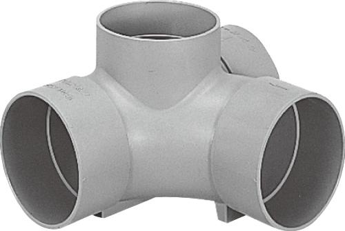 下水道関連製品>ビニマス>M 150シリーズ 90度合流(90Y) M-90Y右150-150 Mコード:41635 前澤化成工業