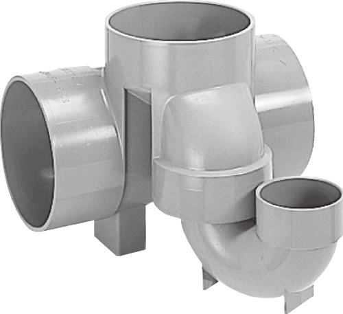 下水道関連製品 ビニマス M 150シリーズ トラップ (UT) M-UT兼150X75S-150 Mコード:41648 前澤化成工業