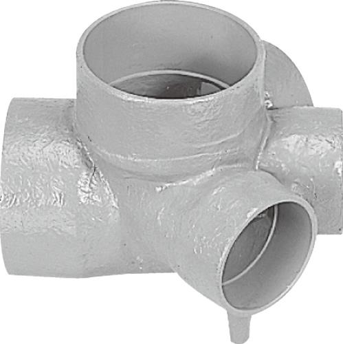 下水道関連製品 ビニマス M 150シリーズ 45度左右合流段差付 (45WYS) M-45WYS150X100-150 Mコード:41652 前澤化成工業