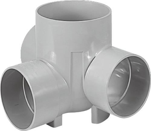 下水道関連製品 ビニマス M 150-200シリーズ 左右合流段差付 (WLS) M-WLS150-200 Mコード:41758 前澤化成工業