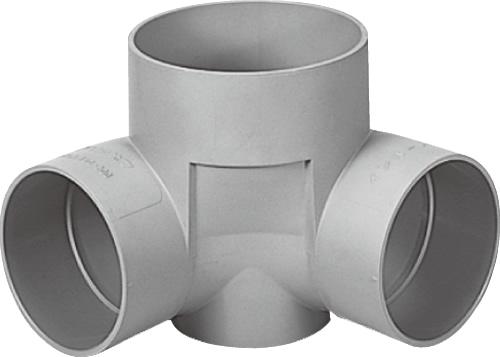 下水道関連製品>ビニマス>M 150-200シリーズ 90度曲り(90L) M-90L兼150-200 Mコード:41762 前澤化成工業