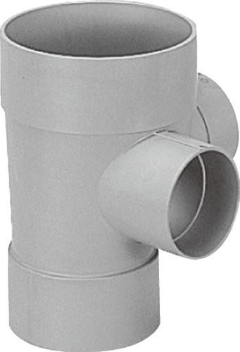 下水道関連製品>ビニマス>M 150-200シリーズ 90度合流ドロップ(DRY) M-DRY右150PX100-200 Mコード:41772 前澤化成工業