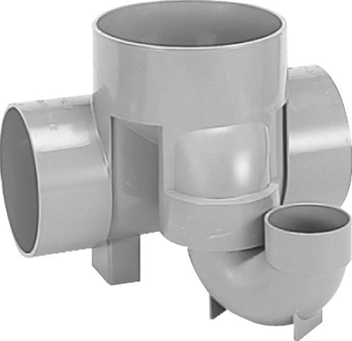 下水道関連製品>ビニマス>M 150-200シリーズ トラップ(UT) M-UT右150X100S-200 Mコード:41782 前澤化成工業