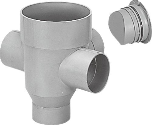 下水道関連製品>公共マス>KM-200型 KMC-DR90WY KMCDR90WY150SX100200 Mコード:41824 前澤化成工業