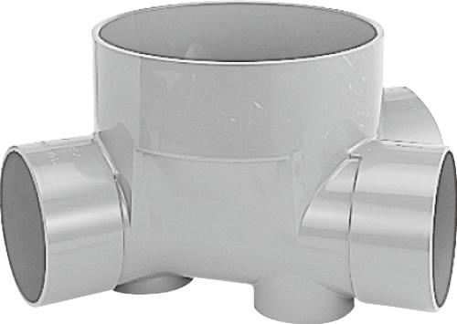 下水道関連製品>ビニマス>M 150-300シリーズ 45度合流(45Y) M-45Y右150-300 Mコード:41869 前澤化成工業