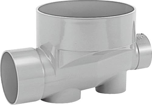 下水道関連製品>ビニマス>M 150-300シリーズ ストレート(ST) M-ST150X125-300 Mコード:41878 前澤化成工業