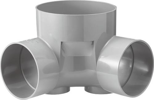 下水道関連製品 ビニマス M 200-300シリーズ 90度曲り (90L) M-90L右200-300 Mコード:41918 前澤化成工業