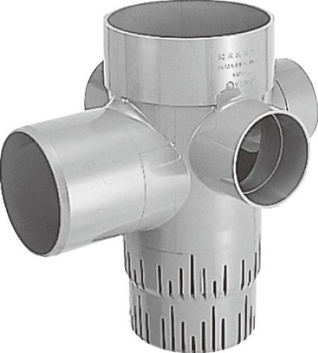 下水道関連製品>雨水マス/雨水浸透マス>PVC製雨水浸透マス SUMA SUMA 150-200シリーズ SUMA-45L150R-200R Mコード:42017 前澤化成工業