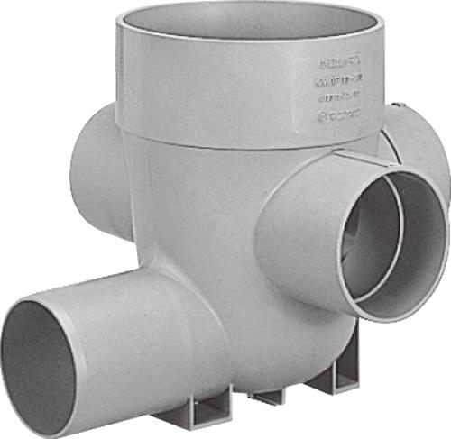 下水道関連製品>公共マス>KA-200型 KA -90WY KA-90WY125SX100-200 Mコード:43138 前澤化成工業