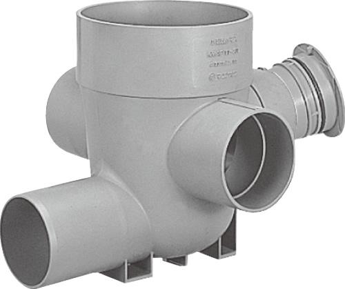 下水道関連製品>公共マス>KA-200型 KAC-90WY KAC-90WY150SX100-200 Mコード:43149 前澤化成工業