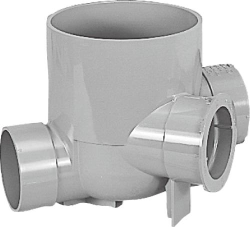 下水道関連製品>公共マス>KY-200型 KY -45WY KY-45WY150PX100-200 Mコード:43170 前澤化成工業