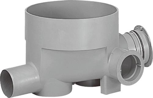 下水道関連製品>公共マス>KM-300型 KMC-90WY KMC-90WY125PX100-300 Mコード:43408 前澤化成工業