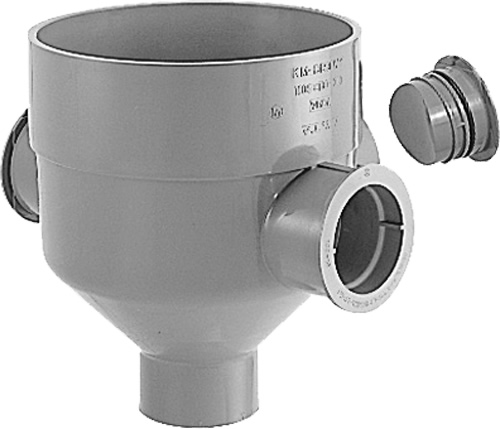 下水道関連製品>公共マス>KM-300型 KMC-DR90WY KMCDR90WY100SX100-30 Mコード:43424 前澤化成工業