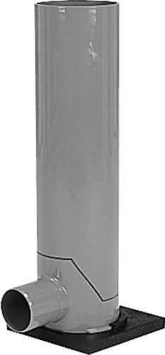 下水道関連製品>フリーインバートマス>横型 F-FM100P-200 F-FM100P-200(HC) F-FM100P-200X2000HC Mコード:43654 前澤化成工業