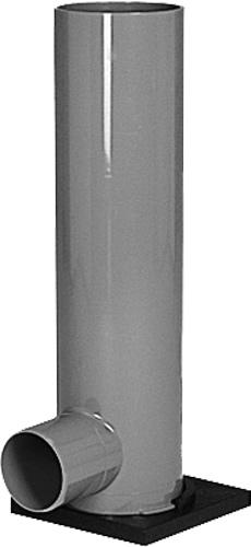 下水道関連製品>フリーインバートマス>横型 F-FM125P-200 F-FM125P-200(HC) F-FM125P200X1500HC台付 Mコード:43700 前澤化成工業