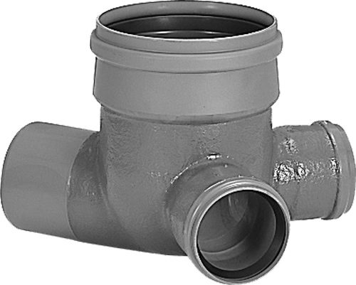 下水道関連製品>ビニホール>ビニホール 300 VHR200-300Pシリーズ VHR-90Y右200X150-300P Mコード:44319 前澤化成工業