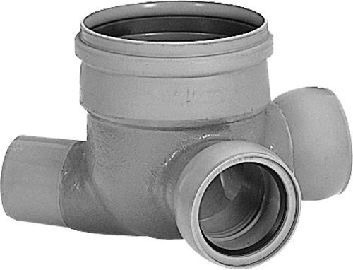 下水道関連製品>ビニホール>ビニホール 300 VHF150-300Pシリーズ VHF-90L左150-300P Mコード:45143N 前澤化成工業