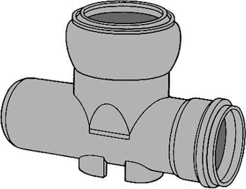 下水道関連製品 ビニホール 傾斜対応型ビニホール 300 KFVHR250-300シリーズ KFVHR-15L左250-300 Mコード:46455 前澤化成工業